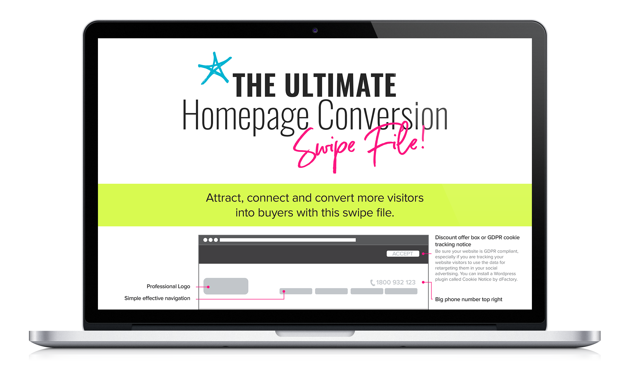 Ultimate homepage conversion file